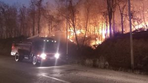 Forest Fires in Chiang-Mai