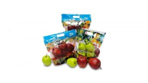 Fruit vegetable slider pouches