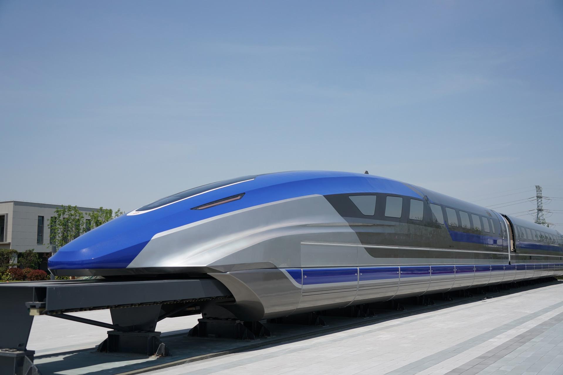China Maglev 600 Km/h