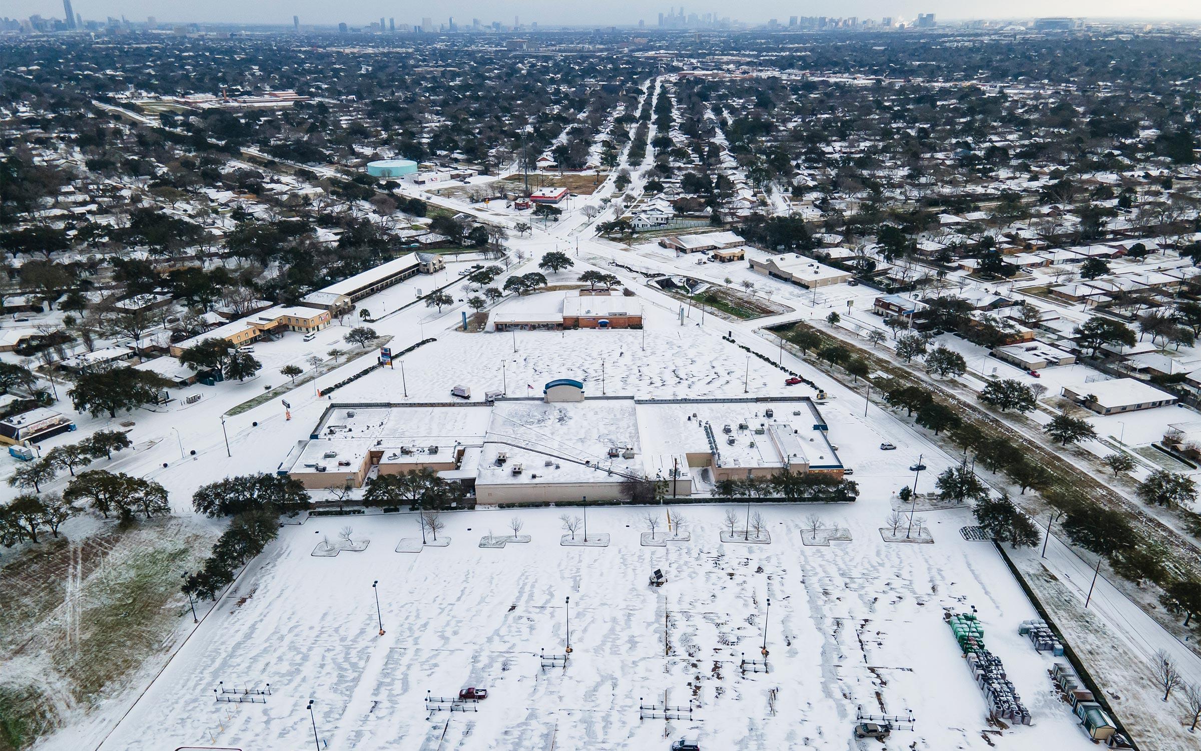 Snow Storm Texas 2021