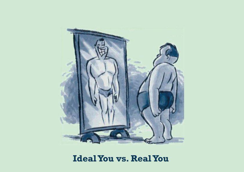 Perceived Self และ Ideal Self