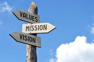 vision mission value