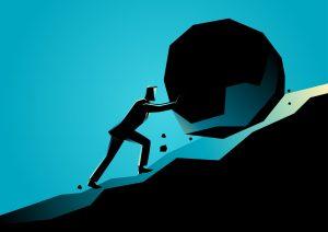 Pushing Big Rock Uphill
