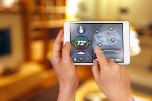 Smart home automation: remote controlling house temperature, Fahrenheit degrees